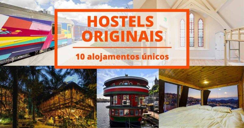 Os hostels mais diferentes e originais