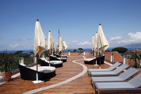 Terrace of Seven Hostel Sant'Agnello