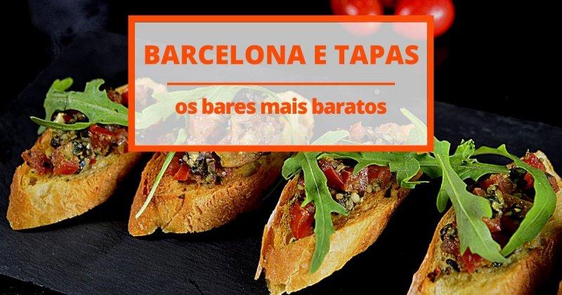Os bares de tapas mais baratos em Barcelona