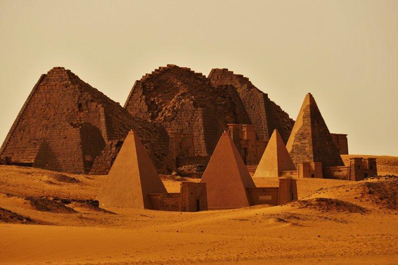 Pirâmides Sudão