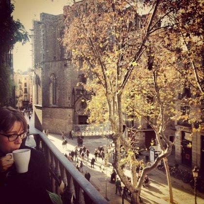 Mariana em Barcelona