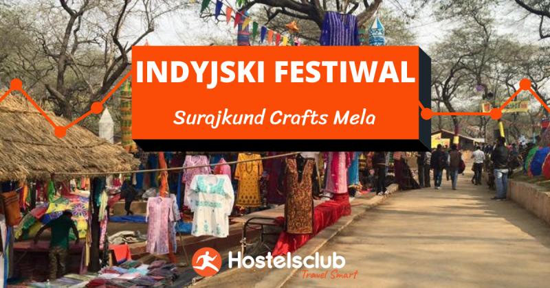 Festiwal Surajkund Crafts Mela w Indiach