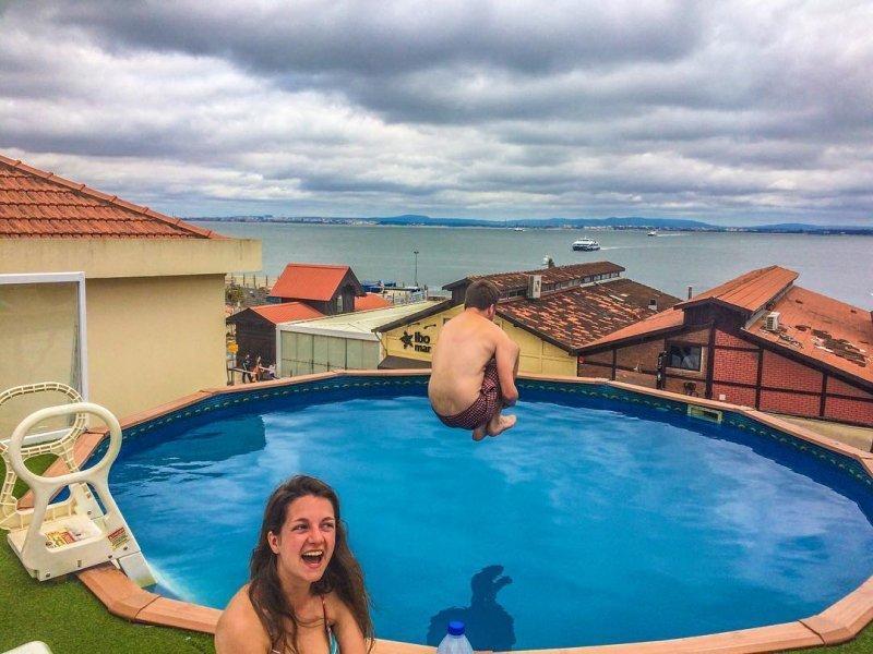 Hostel Sunset Destination, hostel z basenem w Lizbonie