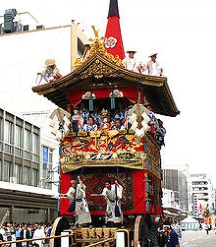 Jedź do Kyoto w lipcu aby zobaczyć  Gion Festival