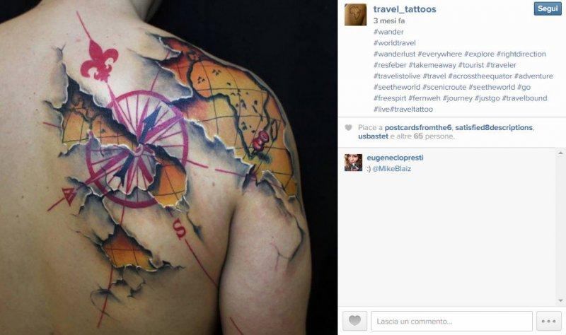 10 Pomysłów Na Podróżnicze Tatuaże Hostelsclub