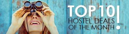Top 10 oferte în hostel în luna ianuarie