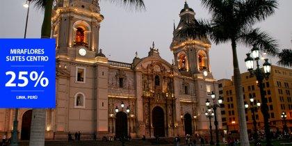 25% di sconto a Lima in Perù