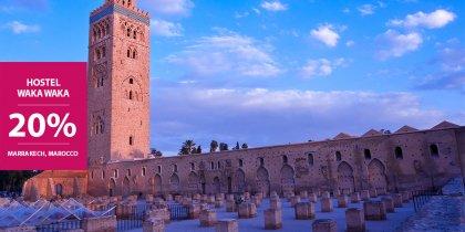 20% di sconto a Marrakech in Marocco
