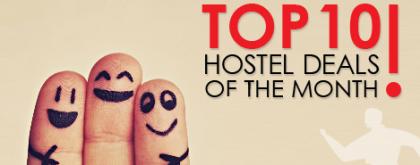 Top 10 oferte în hosteluri din luna Februarie