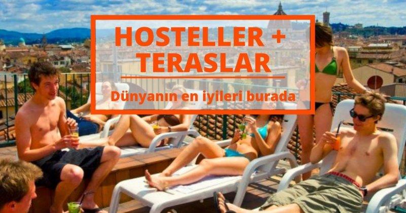 Size Özel En İyi 12 Hostel ve Terasları