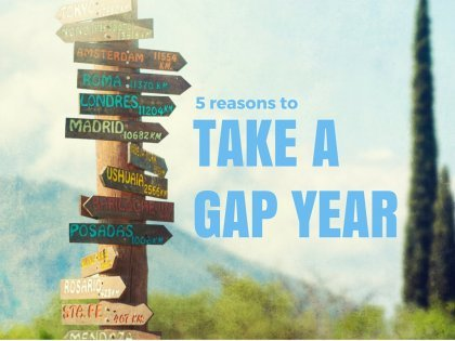 5個放自己一年的假期的理由