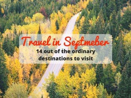 今年九月14個與眾不同的旅行景點推薦