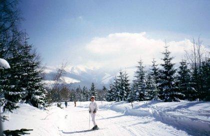 Slovakia skiing