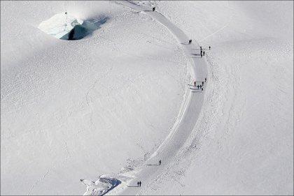 Switzerland skiing