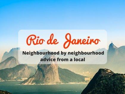 里約熱內盧:當地人的旅遊建議