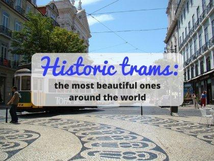 世界上最美麗的老式電車!