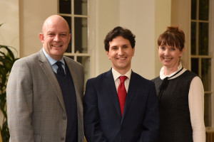 Andy Caldicott, head of family law for Harrison Clark Rickerbys, Andrew Morris and Carolyn Green, head of family law, Cheltenham