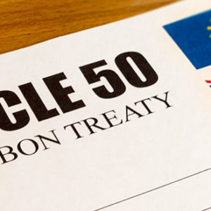 Brexit Article 50 - High Court Ruling