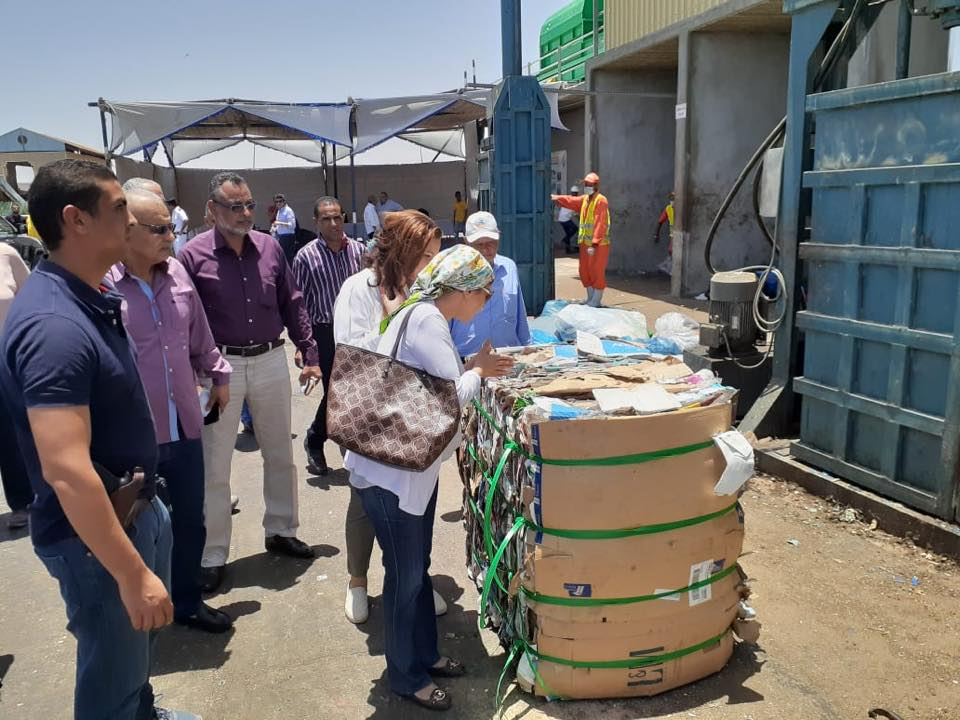 Minister of Environment visit HEPCA's Solid Waste Plant