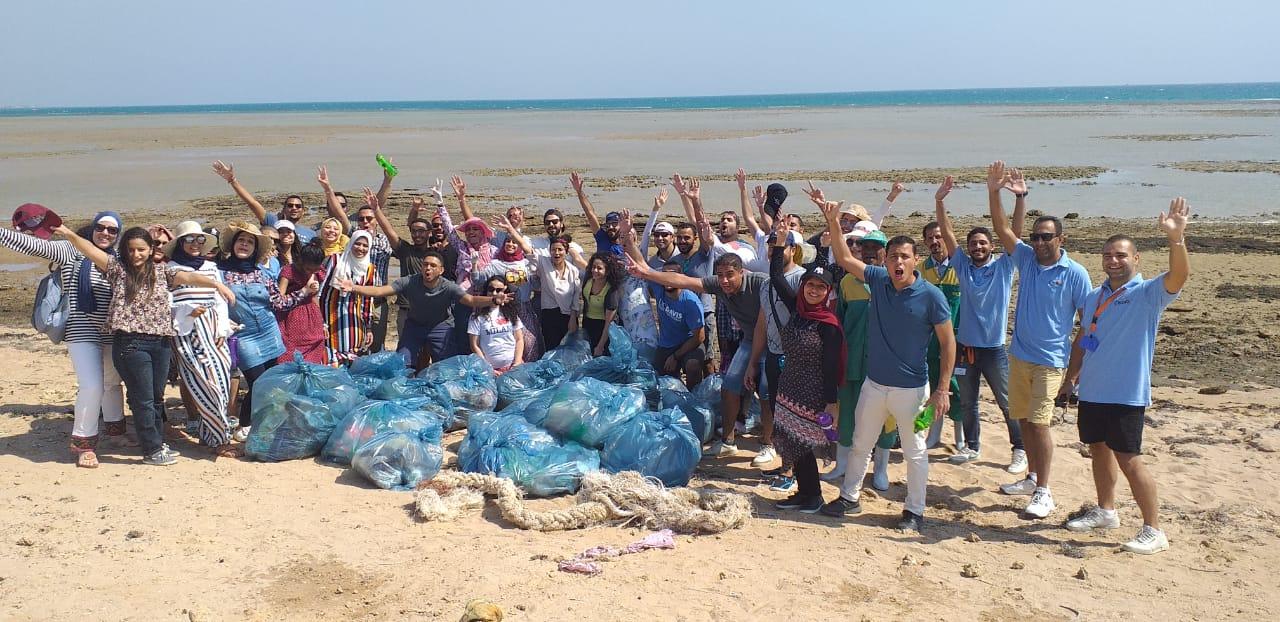 Fairouz beach clean-up campaign