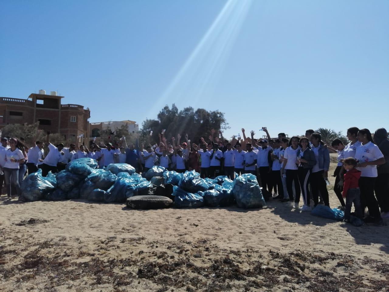 Clean-up campaign in Fairouz area Public beach