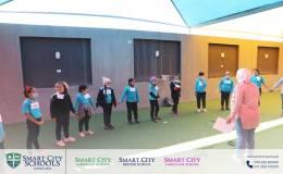 Awareness activities in Smart city school