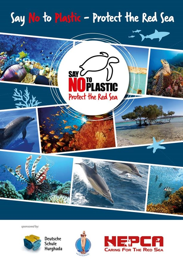No Plastic Campaign in the Red Sea