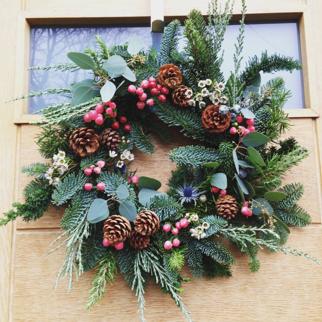 Image Christmas Wreath.Luxury Christmas Wreath Making At The Hepworth Wakefield