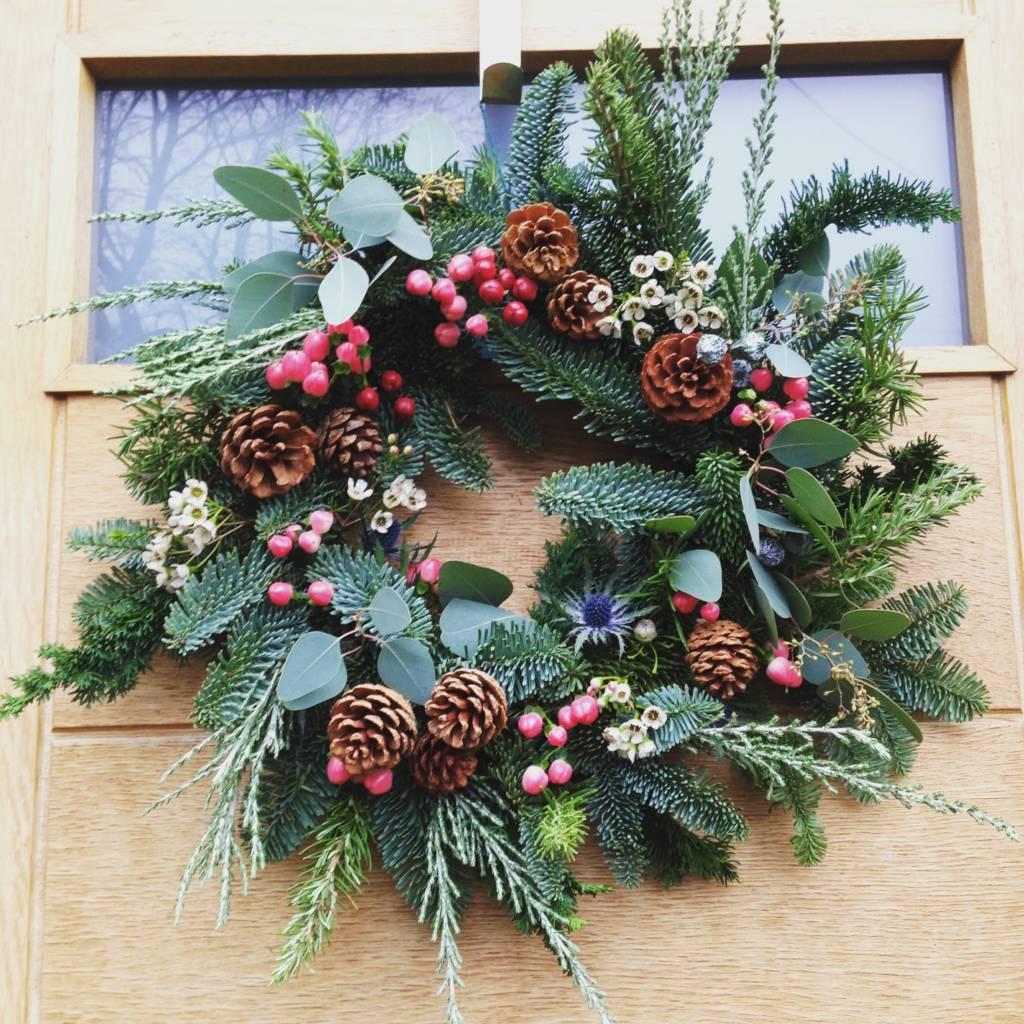 Christmas Wreath Ideas.Luxury Christmas Wreath Making At The Hepworth Wakefield