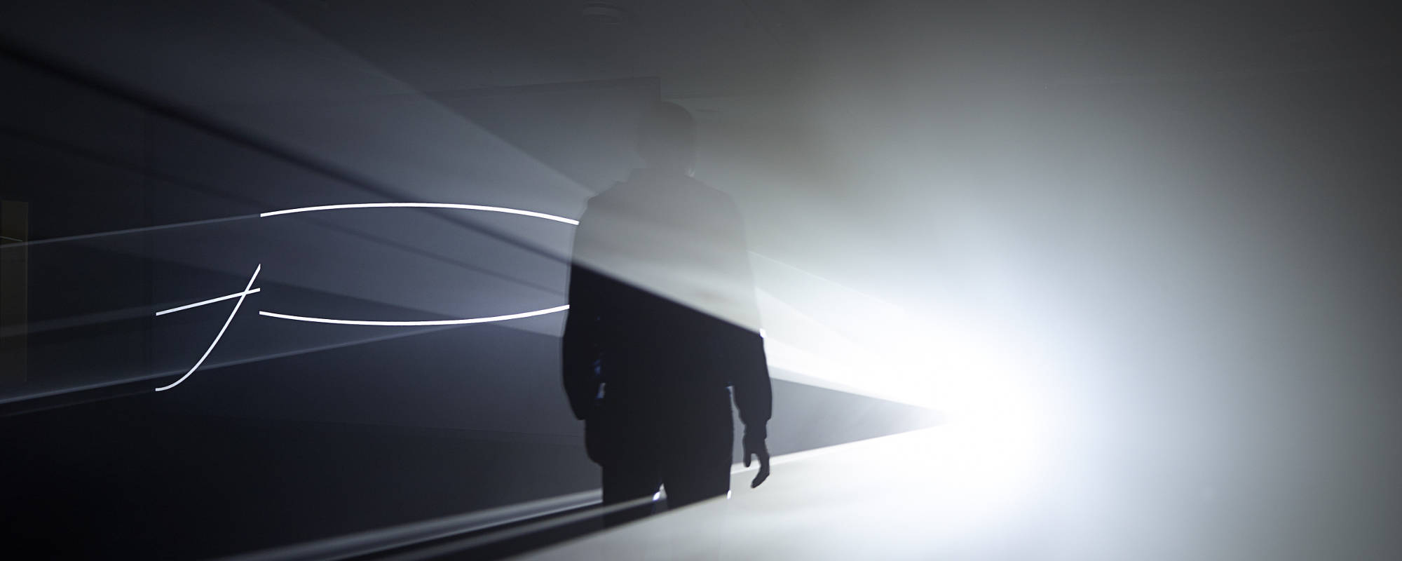 Anthony McCall Solid Light Works & Anthony McCall: Solid Light Works - The Hepworth Wakefield