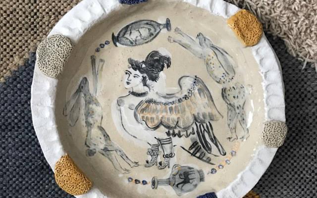 Ceramics Fair Evelyn Albrow