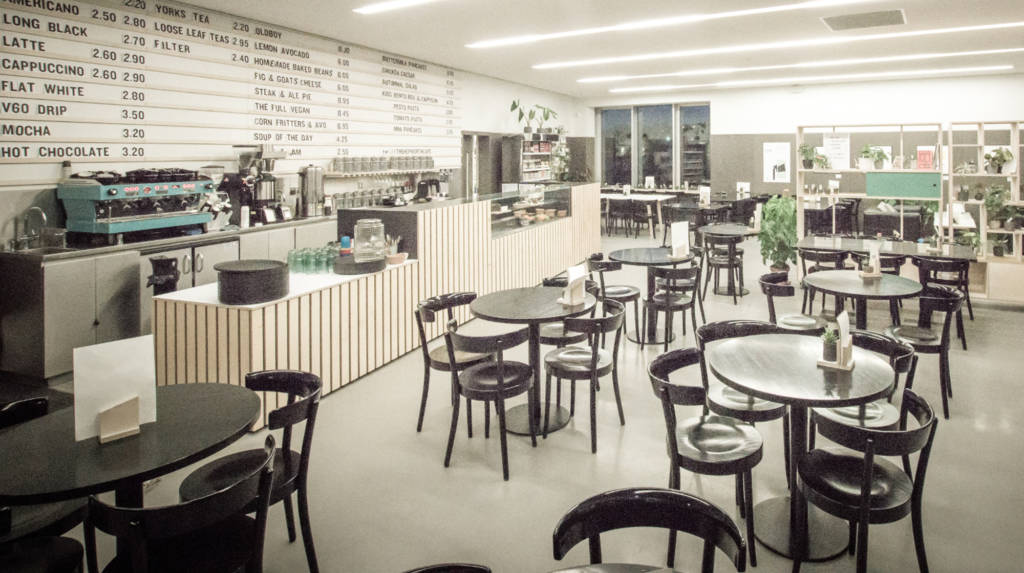 the hepworth cafe at the hepworth wakefield