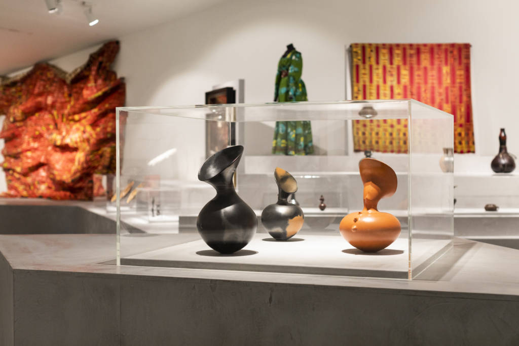 Magdalene Odundo: The Journey of Things - installation view