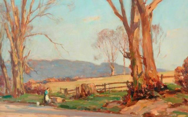 Owen Bowen, The Wayside, Weardley. © the artist's estate. Photo credit: The Hepworth Wakefield.