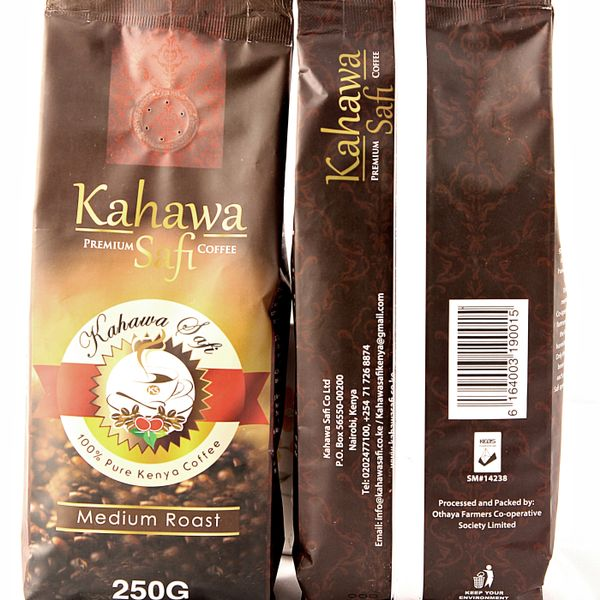 Kahawa Safi Premium Coffee - 250G Medium Roast