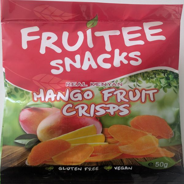 Fruitee dried mango snacks
