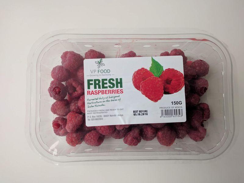 Raspberries 150g