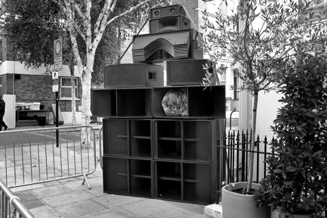 Photo from Brian David Stevens' 'Notting Hill Sound Systems 2016'