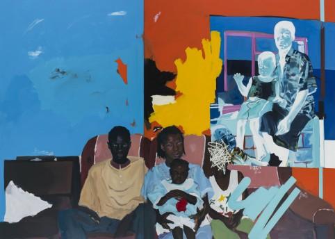 Kudzanai-Violet Hwami 'Family portrait' (2017). Copyright the artist, courtesy Tyburn Gallery