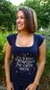"""T-shirt pour femme """"Il n'y a pas d'étrangers sur cette terre"""""""