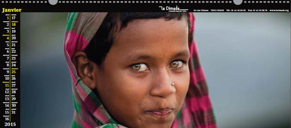 Calendrier du Monde 2015
