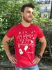 """T-shirt pour homme """"La liberté n'a pas de frontières"""""""