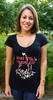 """T-shirt pour femme """"Réinventons l'hospitalité"""""""