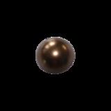 Flatback Parel parelmoer bronskleur