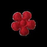 Applicatie Bloem rood