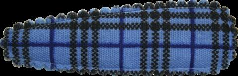Haarkniphoesjes Burberry blauw