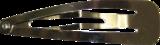 Haarknipje voor haarkniphoesjes Zilverkleur