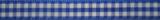 Geruit lint Blauw-wit