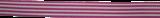 Gestreept lint Fuchsia-wit