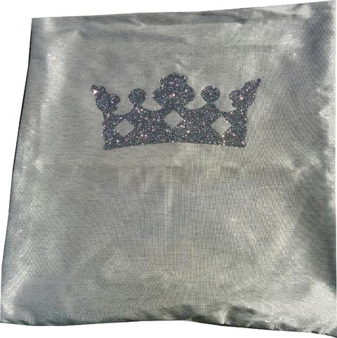 Kussenhoes Kussenhoes zilverkleur